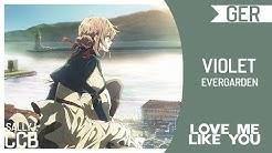 「 CCB 」Violet Evergarden • ED German Fancover