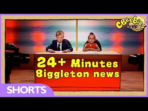CBeebies | Biggleton News | 24+ Minutes Compilations