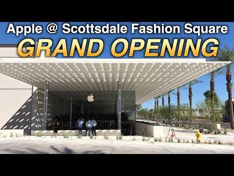 Apple Store Grand Opening @ Scottsdale Fashion Square | Mall Fantasy