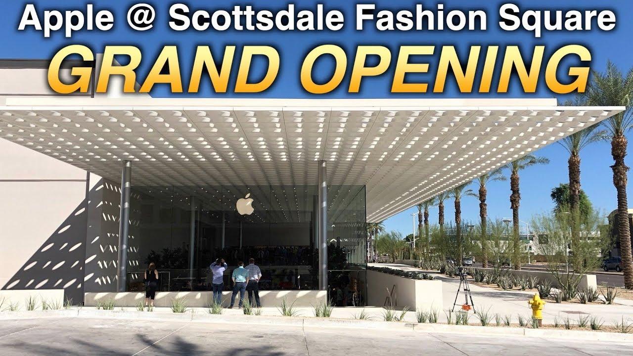 Scottsdale Fashion Square >> Apple Store Grand Opening Scottsdale Fashion Square Mall Fantasy