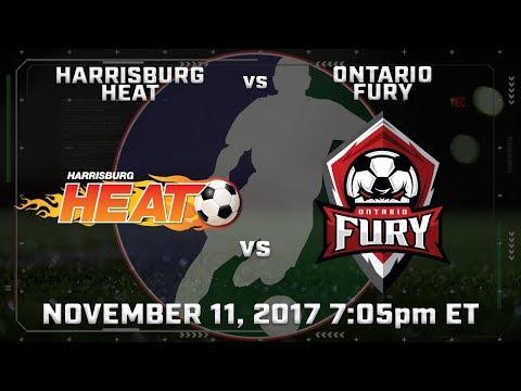 Harrisburg Heat vs Ontario Fury