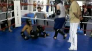A Level 2 STAND UP Muay Thai Training Test : FULL Knees & Bo