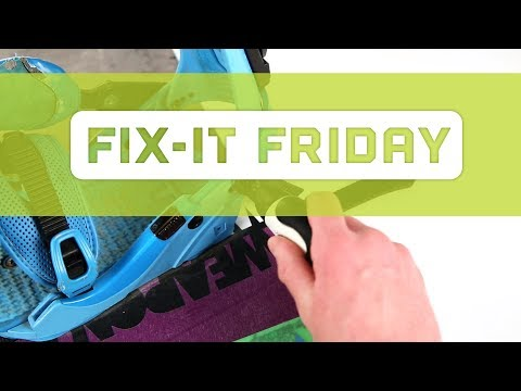 FIX-IT FRIDAY: Snowboard Strap
