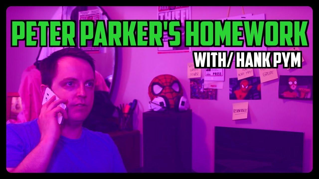 Sketch From Superheroes: Peter's Homework (Hank Pym)