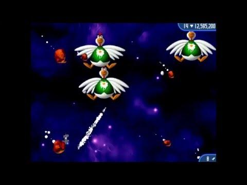 Chicken Invaders 1-5 All Boss Fights on Veteran/Superstar Hero+Endings
