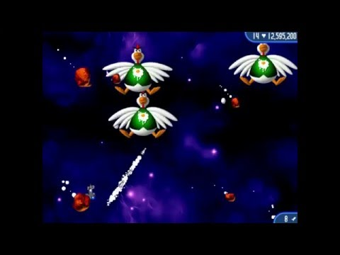 Lets Play Chicken Invaders 2 Christmas Edition part 1