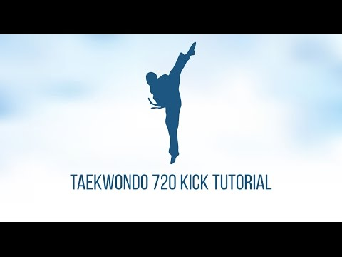 Taekwondo 720 Kick Tutorial thumbnail