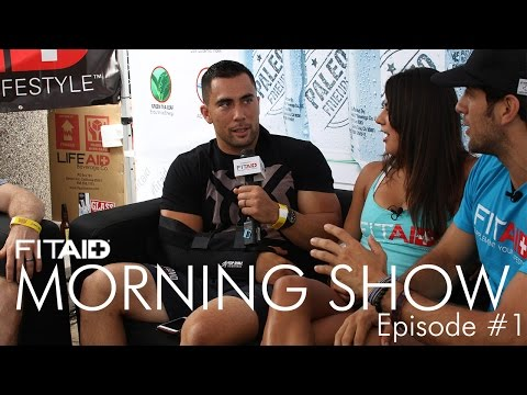 FitAID Morning Show Ep. 1 (GAMES): Ben Alderman and Blair Morrison