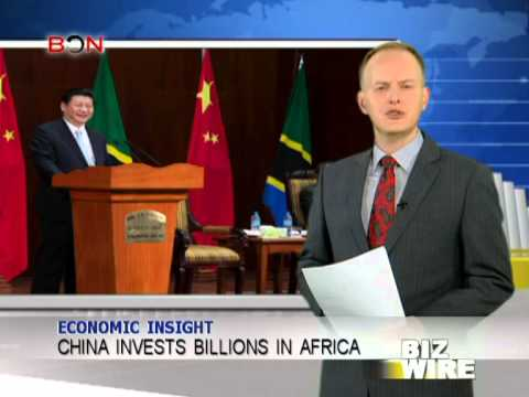 China invests billions in Africa - Biz Wire - March 28, 2013 - BONTV China