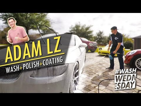 Adam LZ's 600 HP BMW 335i Detail + Drive | WASHWEDNESDAY