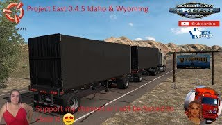 American Truck Simulator (1.36)   Project East 0.4.5 Idaho & Wyoming Vernal to Rock Springs Utah DLC by SCS Software Kenworth K110-E Project Next-Gen Graphics USA + DLC's & Mods https://forum.scssoft.com/viewtopic.php?f=194&t=272187  Support me please tha