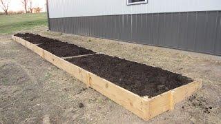 Raised Garden Beds - Homemade