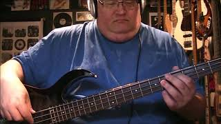 Traveling Wilburys Last Night Bass Cover With Notes Tab Youtube