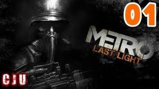 Let's Play Metro Last Light Part 1 - Sparta | PC FPS Game Walkthrough Gameplay