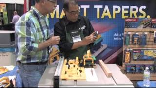 Microjig Microdial Tapering Jig  Presented By Woodcraft