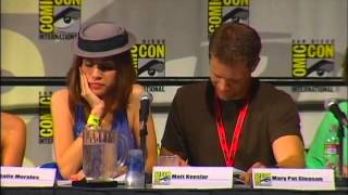 the high-quality middleman comic con 2009 lost episode table read!