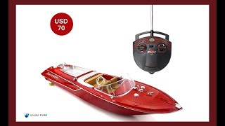 Flytec HQ2011-1 46CM 27MHZ 4CH 15KM/H High Speed Racing RC Boat