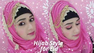 Hijab Tutorial For Eid❤ || Jazz Beauty World