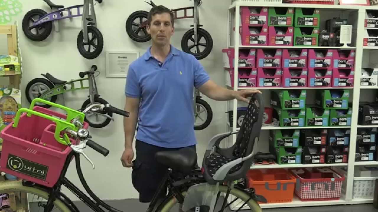 Urkai European Bikes Qibbel Child Seat Euro Rear Rack