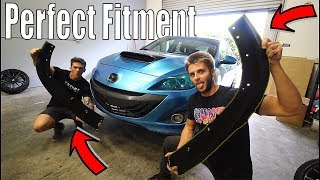 homepage tile video photo for Installing a Corksport Front Lip on the Mazdaspeed 3