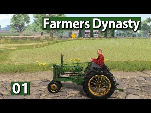 Farmers Dynasty ► Lebenssimulation trifft Landwirtschaft early alpha ► #01 Lets Play deutsch