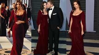 Emily Ratajkowski & Sebastian Bear-McClard At Vanity Fair Oscars Party 2018 | Oscars 2018