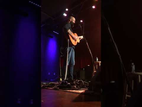 """""""Learning to Fly,"""" William Fitzsimmons, City Winery Boston, 3/20/2018 Mp3"""