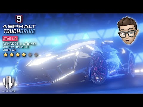 ASPHALT 9: LEGENDS – W Motors Fenyr Supersport 4-STARS Unlocked