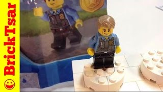 FREE Shipping Chase McCain Promo Polybag Police City 5000281 LEGO