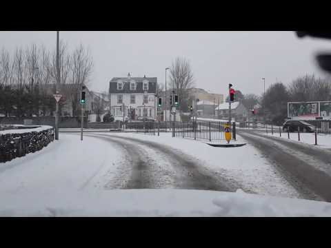 beast from the east - galway city completely shutdown