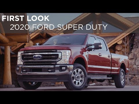 First Look   2020 Ford Super Duty   Driving.ca