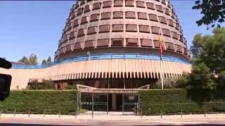Tribunal Constitucional de España suspende iniciativa independentista de Cataluña 2017 Video