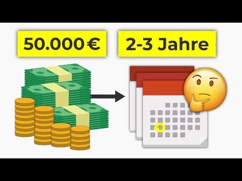 Wie 50.000€ über 2-3 Jahre anlegen? Geldanlage über kurze Zeiträume
