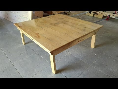How To Make Folding Leg Anese Table
