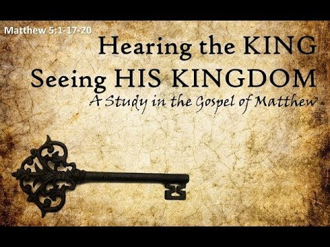 Hearing the King, Seeing the Kingdom #25 - EFBC