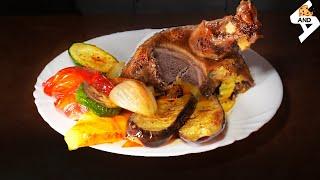 Уточка с овощами в духовке | VANDA culinary | самые быстрые рецепты №2