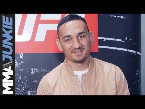 Max Holloway full UFC 213 backstage interview