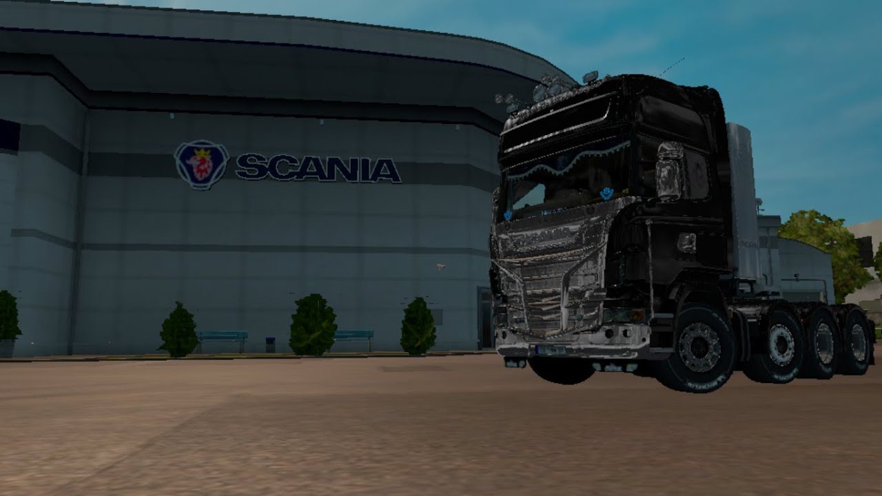 I Bought The New Customized Zebra Scania + Buying a New Garage   Ets2 Mods