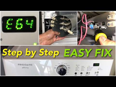 How To Fix A Frigidaire Affinity Dryer That S Not Heating Properly E64 Youtube