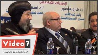الأنبا أرميا لأهالى سيناء: السيسى يعمل ليل نهار لتنمية أرضكم وبيحبكم