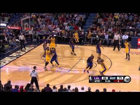 Kobe Bryant And Anthony Davis Duel In New Orleans
