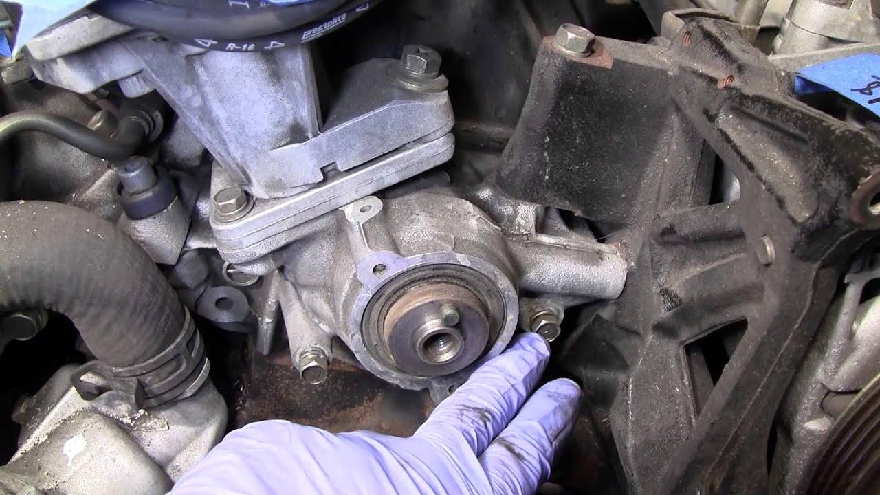 2002 Nissan Xterra VG33E Rebuild Step by Step Part 28 - Cam Gear Backing  Plate