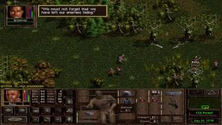 Jagged Alliance 2: Typical Early Stage Battle in the Woods Walkthrough. [HD]