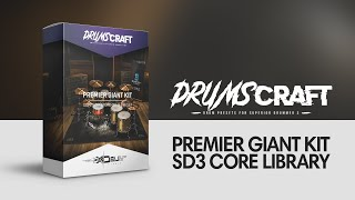 Superior Drummer 3 Preset for CORE Library | #DRUMSCRAFT Premier Giant Kit