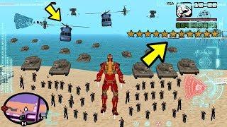 Что будет, если Железный Человек получит 11 звёзд в GTA San Andreas?
