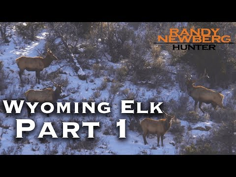 2018 Wyoming Late Season Elk Hunt with Randy and Matthew Newberg (Part 1)