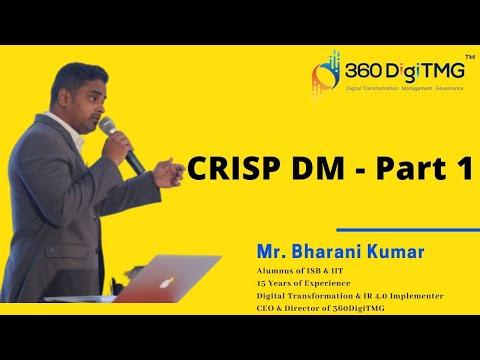 CRISP-DM, Cross-Industry Standard Process For Data Mining (Part 1 Of 5) | Free Tutorial | 360DigiTMG