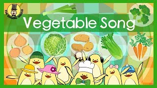 Vegetable Song  Songs for kids  The Singing Walrus