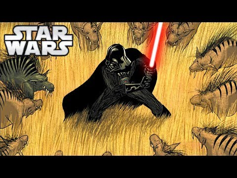 Darth Vader SLAUGHTERS Hyenas BRUTALLY - Star Wars Comics Explained