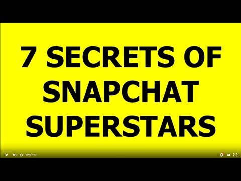 Make Money With Snapchat Get Famous Secrets of Snap Celebrities